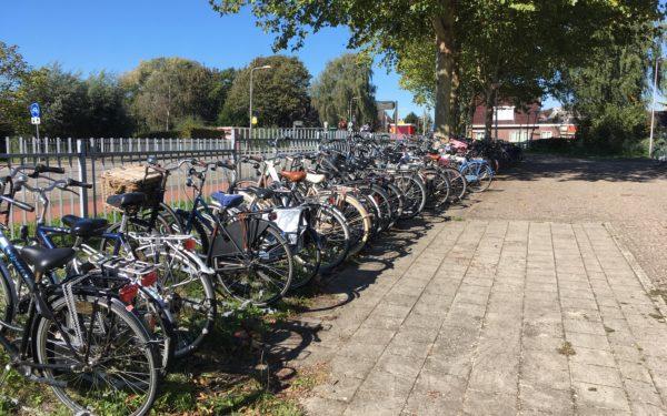 Uitbreiding fietsenstalling bij bushaltes in Oudewater
