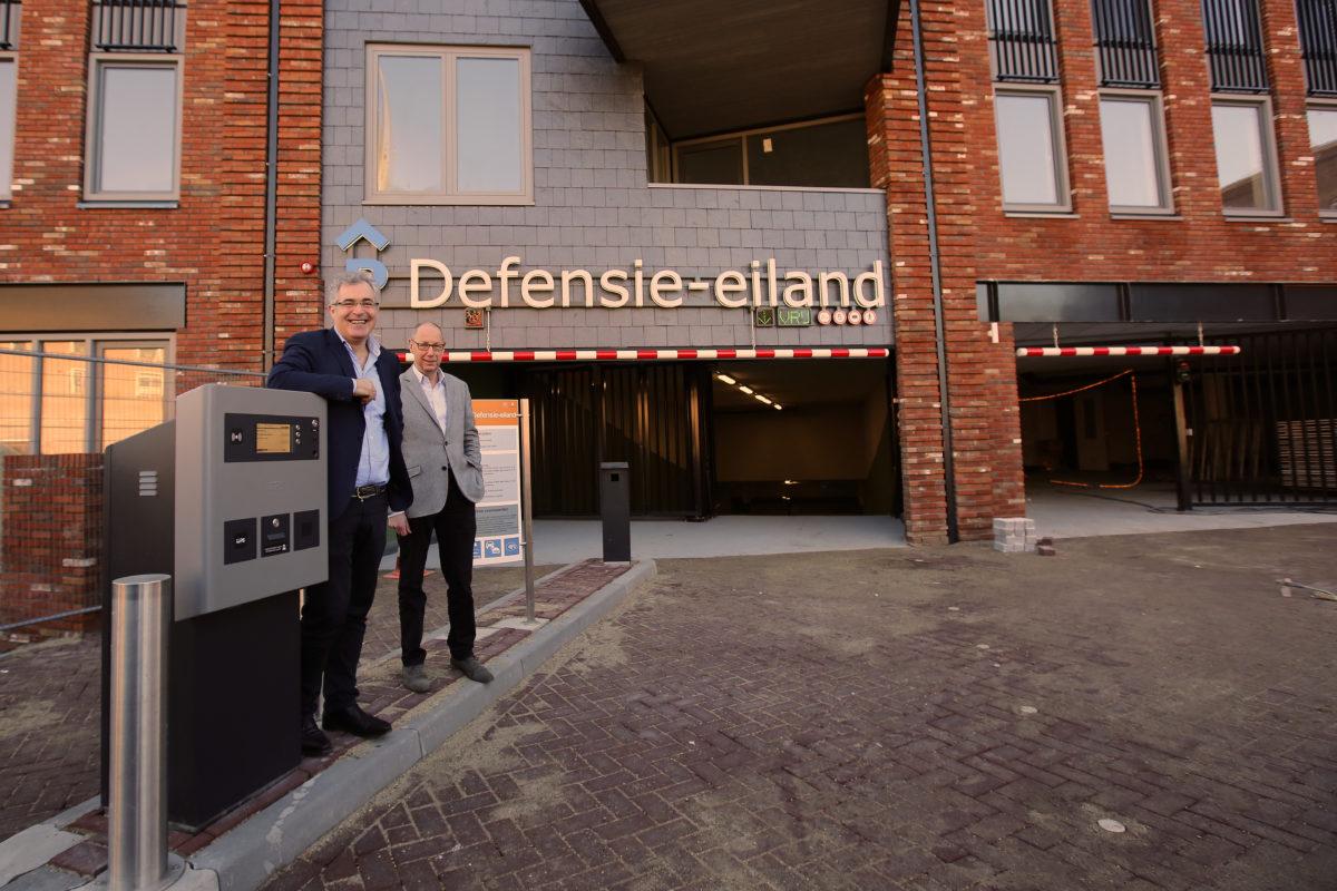 Parkeergarage Defensie-eiland open