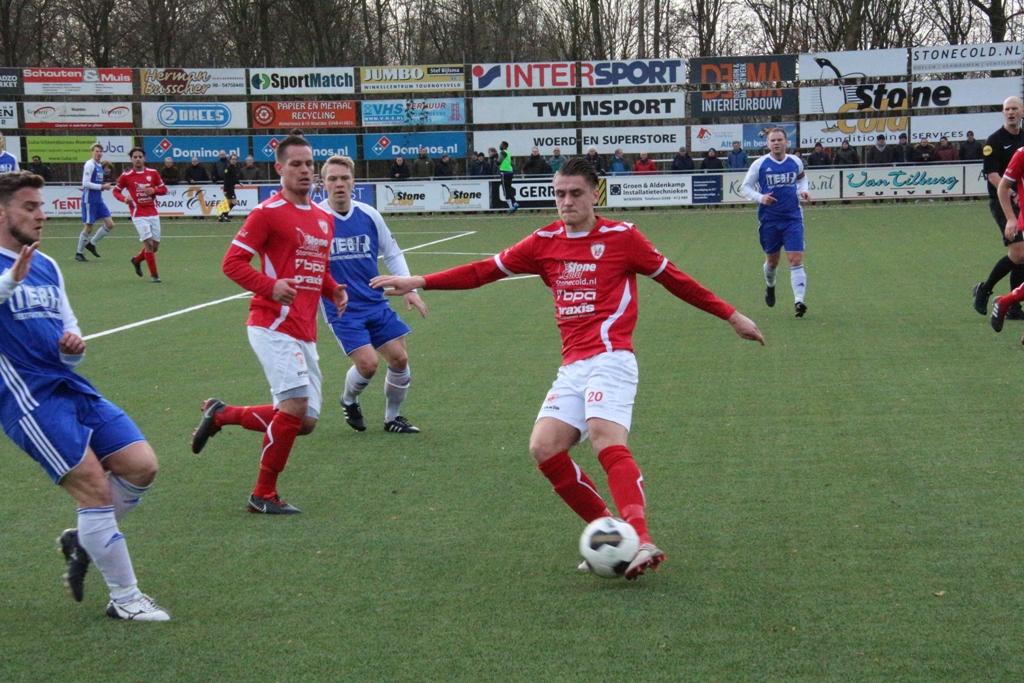 Sportlust '46 walst over achtkoppig VV Montfoort heen