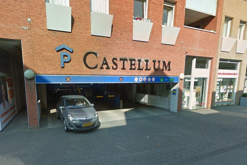 Komende maanden werkzaamheden parkeergarage Castellum