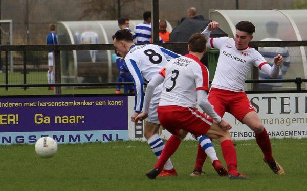 Woerden 1 wint derby in extremis