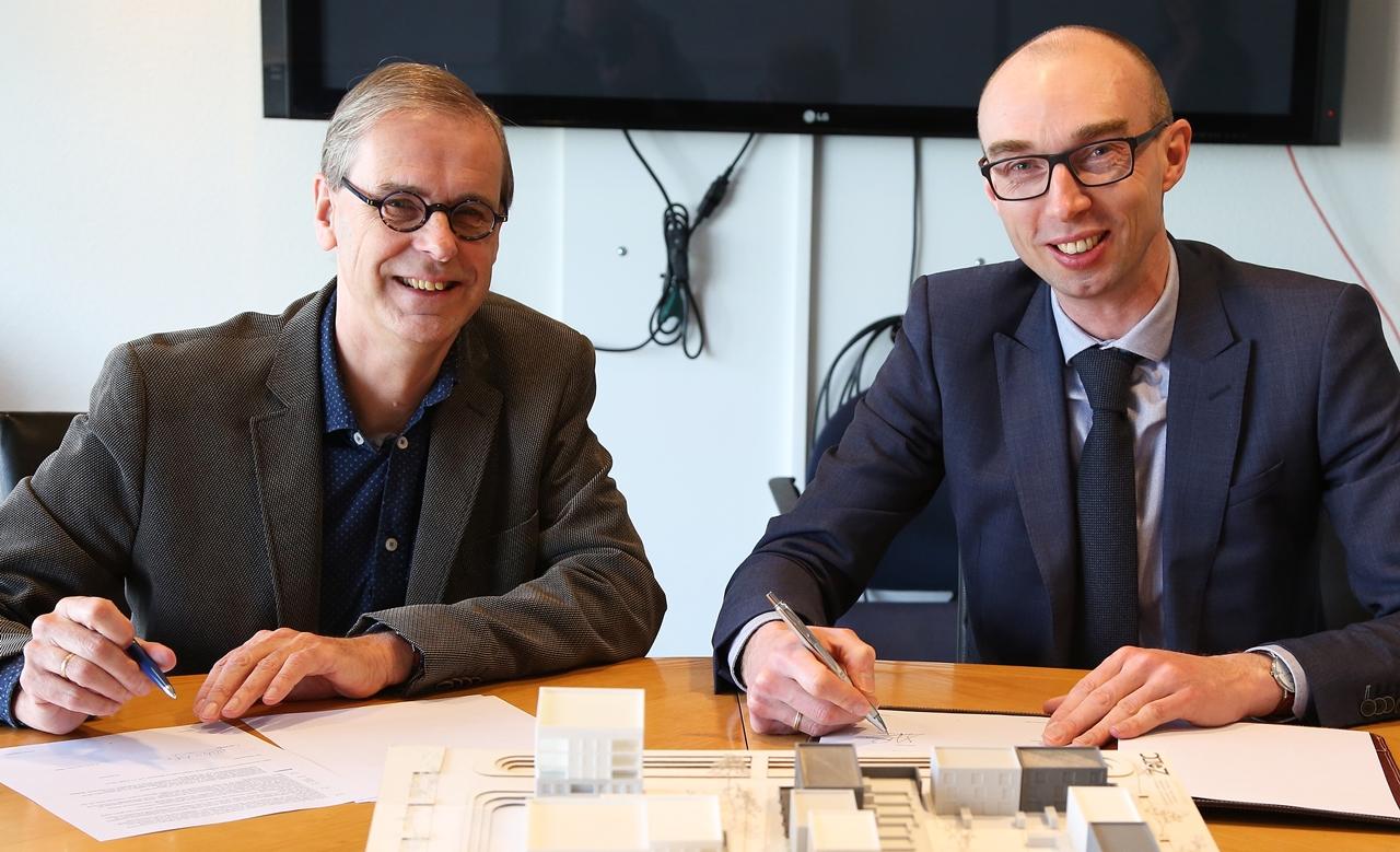 Overeenkomst woningbouw voormalig Pels-terrein