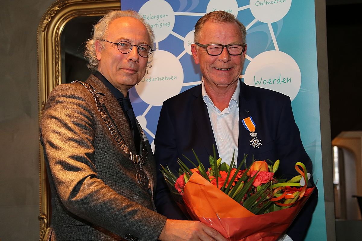 Koninklijke Onderscheiding voor David Verweij