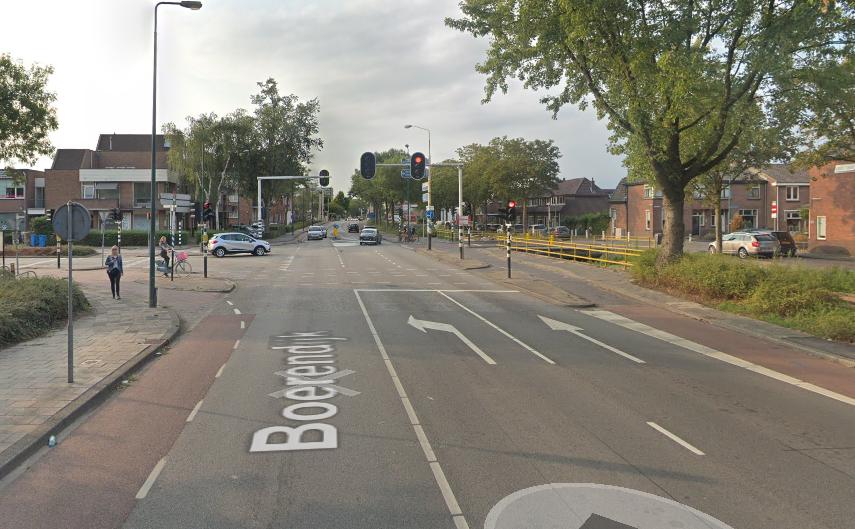Vervanging verkeerslichten kruispunt Boerendijk-Hoge Rijndijk