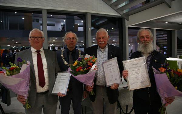 Gemeentelijke onderscheidingen voor Woerdense raadsleden