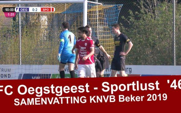 Sportlust in 1/4 finale KNVB beker