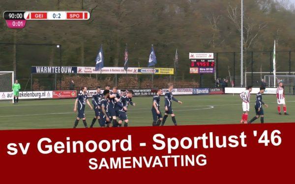 Eenvoudige zege Sportlust '46 op Geinoord Nieuwegein