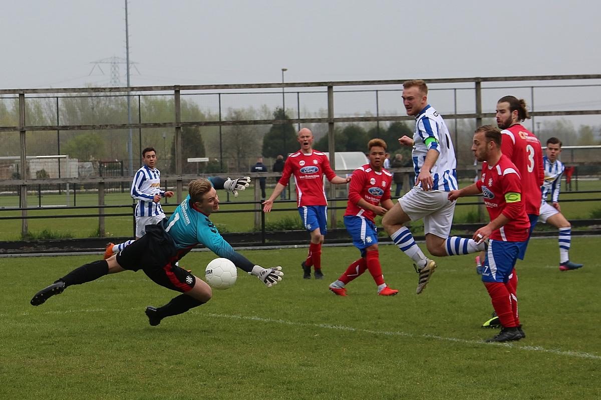 Sc Woerden 1 verslaat aanstaande kampioen SV Gouda