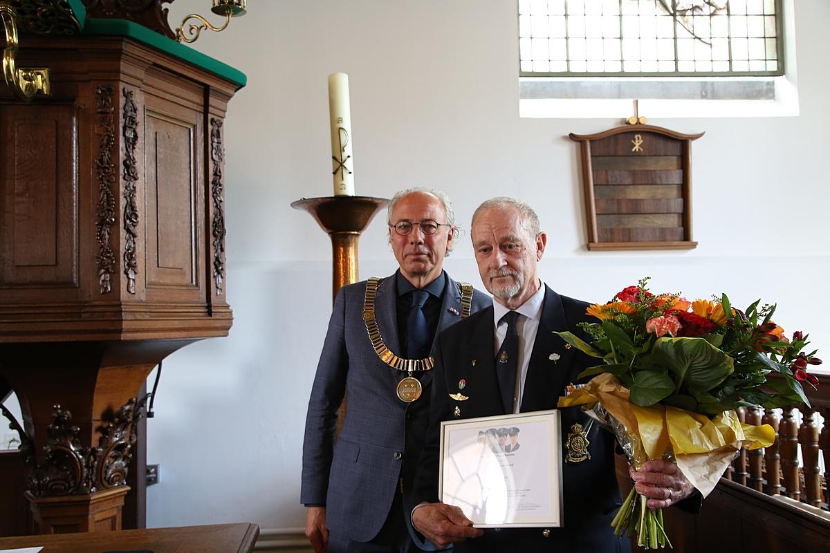 Prestigieuze Award voor Woerdense veteraan