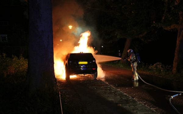 Autobrand Oostsingel