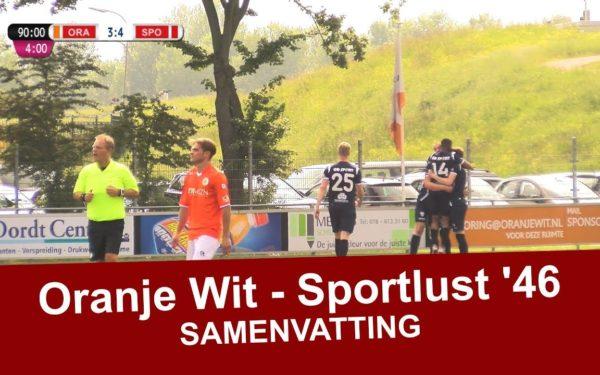 Sportlust '46 wint ook zijn laatste uitwedstrijd