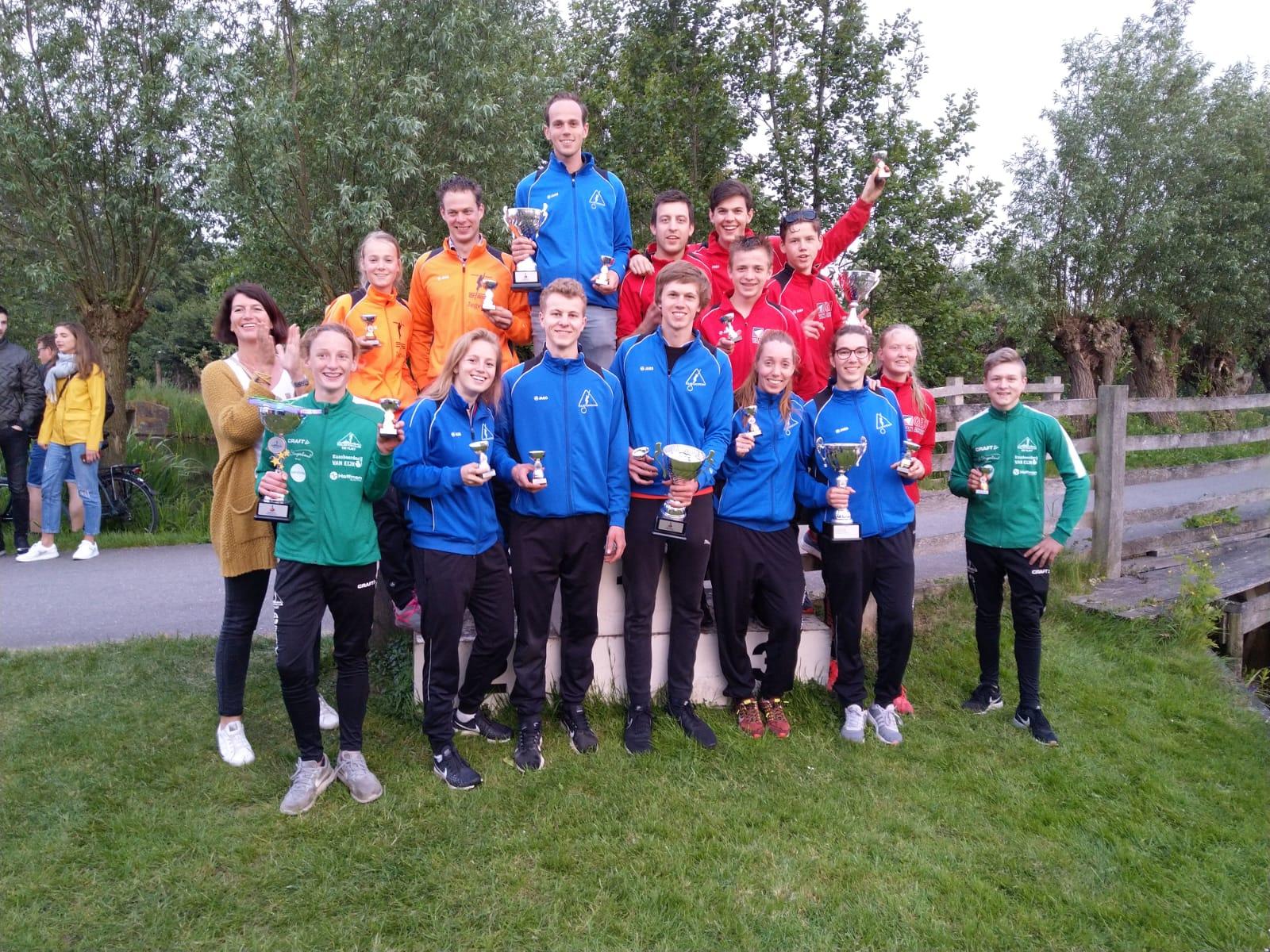Rian Baas wint polsstokverspringen in Vlist