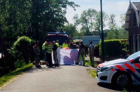 Vrouw overleden na ongeval in Linschoten