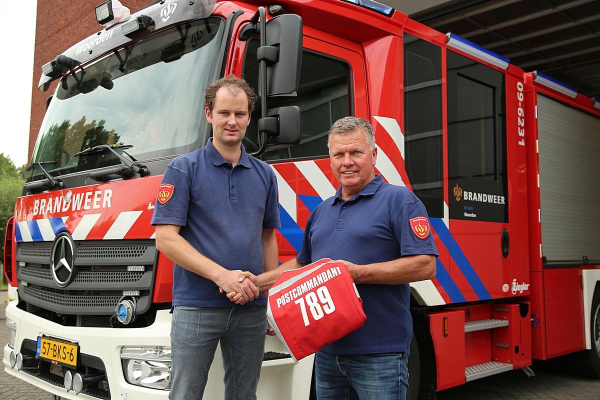 Commandowisseling brandweerpost Woerden